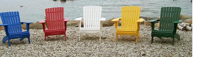 Muskoka chairs: durable outdoor patio furniture