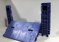 Replacement door for plastic storage bin repairs