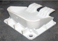 Replacement latch for plastic storage bin repairs